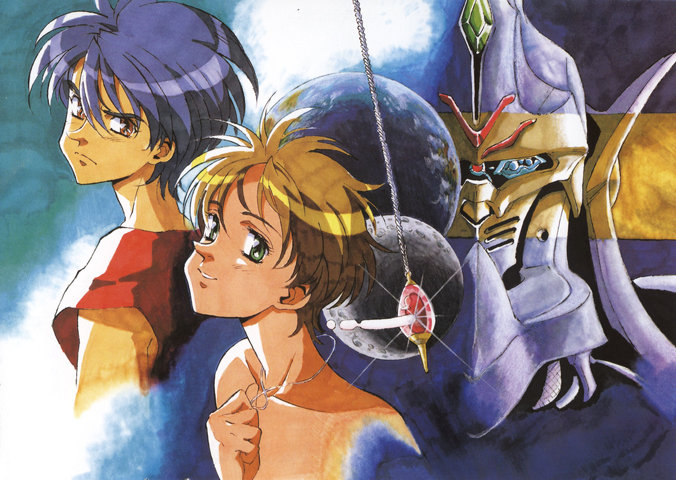 "Escaflowne: ""Are you high again?"" ""As a kite! Yay!"""