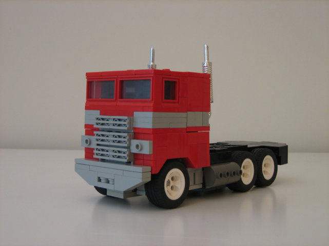 Lego, Transformers: Optimus Prime, right?