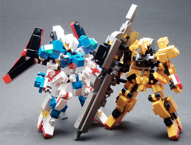 Gundam, Lego: Everything can be made in Lego