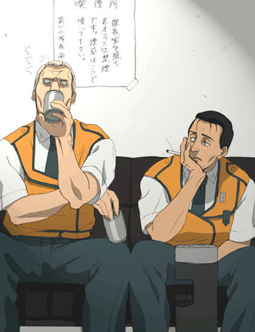 Ghost in the Shell, Patlabor: I'd watch it