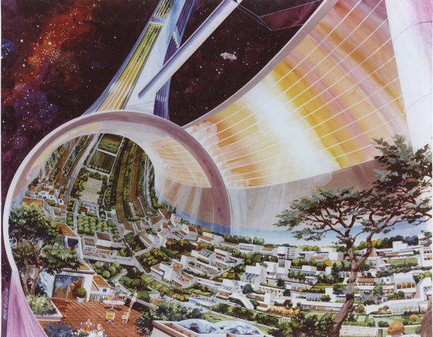 Classic Science Fiction: A penny of every tax dollar going to NASA could do this
