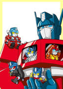 Transformers: The original Transformers from our collective childhood is on Netflix… I should try watching it for the lulz