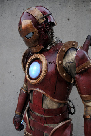 Iron Man: All we need is Iron Man 4 in the wild west, concurrently happening with Back to the Future 3