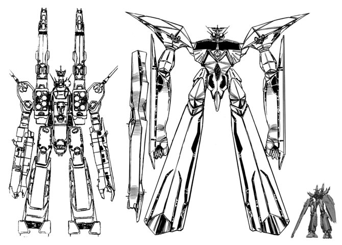 Macross: Another size comparison