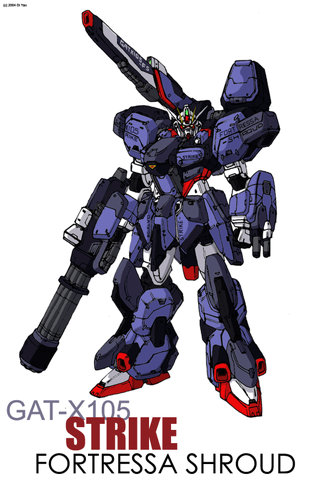 Gundam: I never understood the whole adding armor to Gundams… they're not tanks, its not Chobham armor