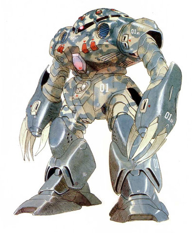 Gundam: Camo is a good thing