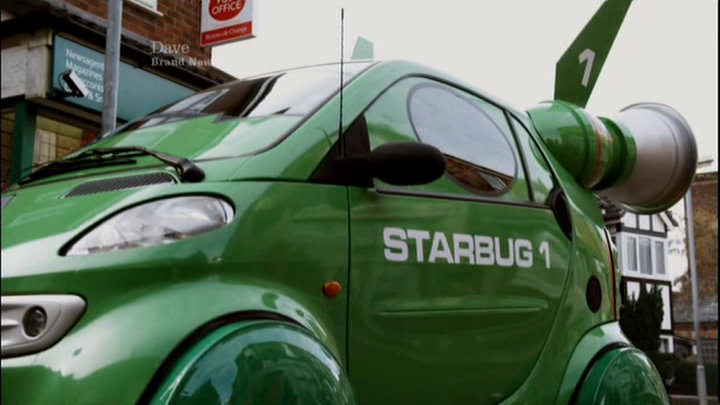 Miscellaneous: Starbug as a car. Right.