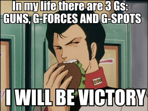 Gundam: Sounds about right