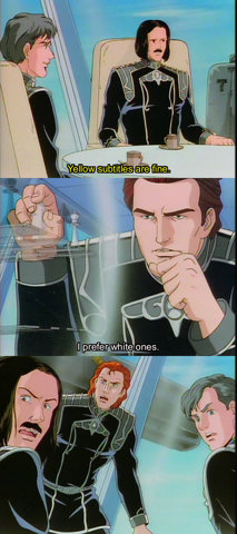 Legend of the Galactic Heroes: I know, right?