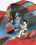Giant Robo: And lots of shit blows up