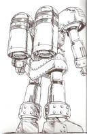 Giant Robo: Back of Giant Robo