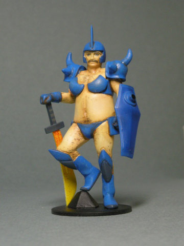 Gundam: BECAUSE NOTHING IS MORE MANLY THAN THIS