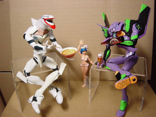 Evangelion: We can all get along!
