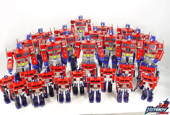 Transformers: I think Optimus Prime would frown on the real world, look at what eternal war did to Cybertron